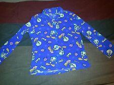 Women's Looney Tunes Tweety Bird Pajama Top Large (12-14) Warner Brothers