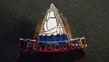 Plymouth :  Emblem , Chrom, Schriftzug : Vintage, Oldtimer