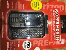 Brand New LG Cosmos VN250 - Slider Verizon Cellular Prepaid Mobile Cell Phone