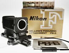 Nikon Pb-6 Bellows W/ Double Cable Release