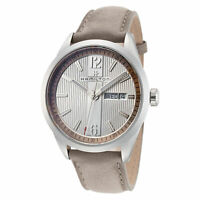 Hamilton Men's Broadway H43311915 40mm Silver Dial Leather Watch