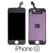 IPHONE SE LCD SCHERMO DISPLAY RETINA TOUCH SCREEN VETRO FRAME NERO BLACK