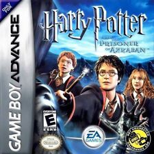 Harry Potter and the Prisoner of Azkaban GBA New Game Boy Advance