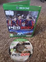 Pro Evolution Soccer 2017 (PES) - Xbox One Game - Private Seller - FREE P&P!