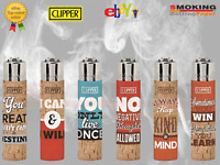 Accendino Clipper Frasi Positive Cork Regular In Shghero Grande 6 Accendini ★