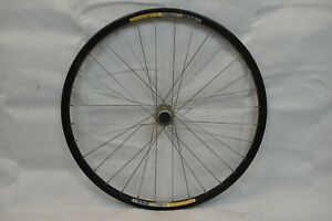 """Alexrims 26"""" Front MTB Bike Wheel Deore LX Hub OLW100 15mm 32S PV Disc Charity!!"""