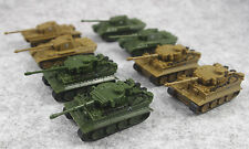 """8pcs/lot Military Tanks Rotating Turret Plastic Army Accessories Model Toy 2"""""""