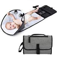 Baby Waterproof Diaper Changing Pads Dismountable Folding Travel Pads