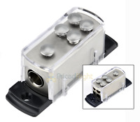 4 8 Gauge Power Platinum Distribution Block Car Audio Wiring 1 to 4  Amp