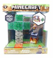 Minecraft Birch Forest Biome Playset, Toys Based On Video Game, Witch Lava Tiles