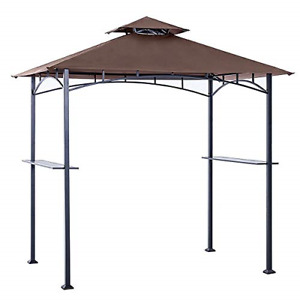ABCCANOPY Grill Shelter Canopy roof ONLY FIT for Gazebo Model L-GZ238PST-11 B...