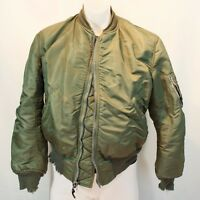 Vietnam Era USAF MA-1 Flying Man's Jacket 1963 Medium Alpha Industries Vtg