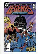 Legends Complete DC Comics LTD Series # 1 2 3 4 5 6 Waller Suicide Squad GK34
