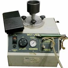 VACUTECH DIK WET-JET BLASTING WITH WATER AND GLASS BEADS Hydro-Sandblaster