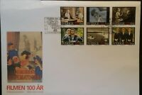 Sweden 1995 100th Anniversary of the Cinema FDC Stockholm SHS