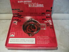 Marlboro Cigarette Collectible Glass Personal Horse-Shoe Ashtray NEW NIB