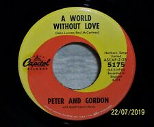 NM *** PETER and GORDON --- A WORLD WITHOUT LOVE