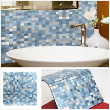 5x12x12'' Peel and Stick Backsplash Tile Aluminum Mosaic Tiles for Kitchen Wall