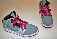 Youth Children's size 7 6266 NIKE Air Jordan 23 Gray Hot Pink Basketball Shoes
