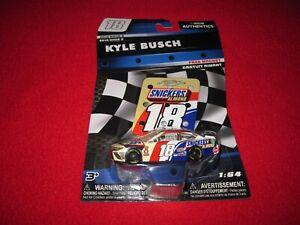 Kyle Busch #18 Snickers Almond NASCAR Authentics 1:64