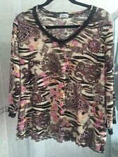 🌸Gerry Weber🌸 Stretchy Top, Size 18, Used, VGC