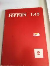 Vintage 1/43 Ferrari FDS Precision Miniatures 1981 Model Masterpieces catalog