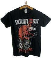 Rare DOWNLOAD FESTIVAL BLACK T-SHIRT SIZE S Now in it's 10TH year