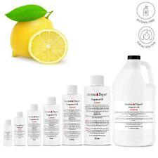 Lemon Perfume/Body Oil Candle Soap Bath Bomb Incense Making Bulk Wholesale Lot