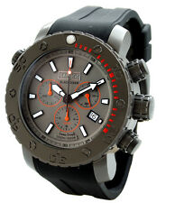 BARBOS  BLACK DIVER IP TITAN CHRONOGRAPH  3300ft  DIVER  WATCH.