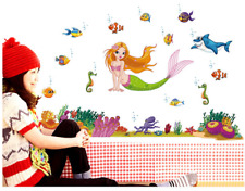Mermaid Vinyl Home Room Decor Art Wall Decal Sticker Bedroom Removable Mural