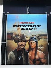 Nintendo NES Romstar Cowboy Kid original artwork Transparency