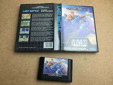 Last Battle - SEGA Mega Drive (TESTED/WORKING) UK PAL