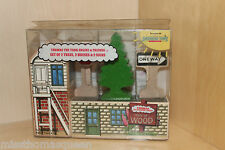 Thomas The Tank Engine Wooden Railway SET of Trees Houses & Signs RARE 1992