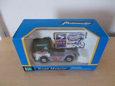 Hongwell AC210 Tractor Unit & Sign -  Road Monster - Approx 9cm long - Boxed