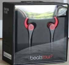 Beats Tour2 Wired In-Ear Headphone, Active Collection, Red,  New In Box