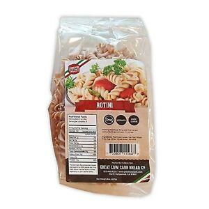 Great Low Carb Bread Co. Rotini Pasta 8 oz. Low Carb Pasta, Organic, Kosher, ...