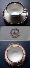 Porcelaines de Luxe - Collection Lourioux 1960 - Tasse + Soucoupe / Cup + Saucer
