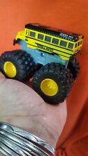 Tonka Diecast Metal Monster Truck  Yellow School Bus Tonka Unified