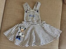 Girls Disney Dress 2-3 Years Minnie  Dungarees Style