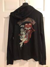 JOHN VARVATOS STAR USA Rolling Stones Limited Edition Hooded Siloed Shirt XL