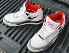 finest selection 89e0b 5354f Nike Air Flight Squad QS Mens 7.5 White  Black  Wlf Grey (679260-