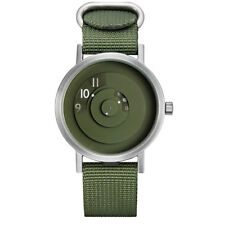 "Projects Watches ""Reveal"" Quarzo Acciaio Verde Tessuto NATO Orologio Unisex Uomo"