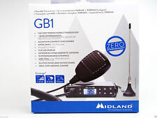 Midland GB1 PMR446 UHF Mobile Radio with Magnetic Antenna Licence Free
