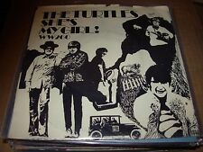 """TURTLES she's my girl / chicken little ( rock ) - 7"""" / 45 - picture sleeve -"""