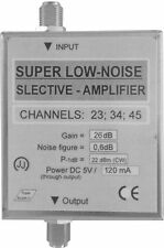 Uhf super low noise selective amplifier, Uhf selective tv amplifier 3Ch,
