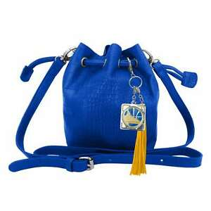 Golden State Warriors NBA Charming Mini Bucket Bag by Little Earth New