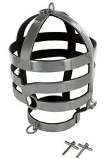 STAINLESS STEEL HEAD CAGE ESCAPE MAGIC SOLID STEEL GREAT FOR STAGE/HALLOWEEN NEW