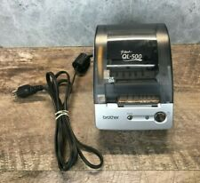 Brother P Touch Ql 500 Thermal Label Printer Unit Only Untested