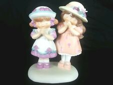 """Enesco 1994 Precious Moments Sister's """"Thank you God For Wonderful My Sister"""""""