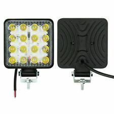 48W LED Arbeitscheinwerfer 16LEDs Flutlicht Nebel Lampe Strahler SUV 9V-48V